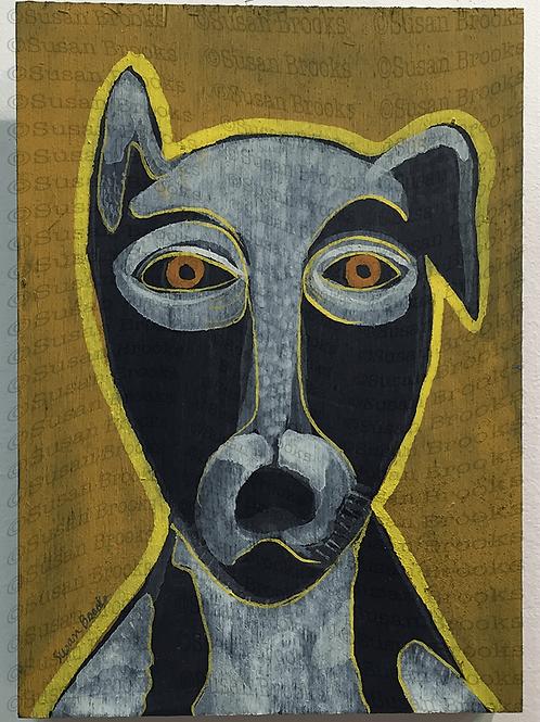 Painting: dog 584