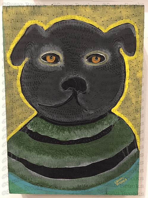 Painting: dog 589