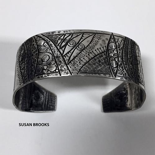Medium Silver Cuff Bracelet 625 | Susan Brooks