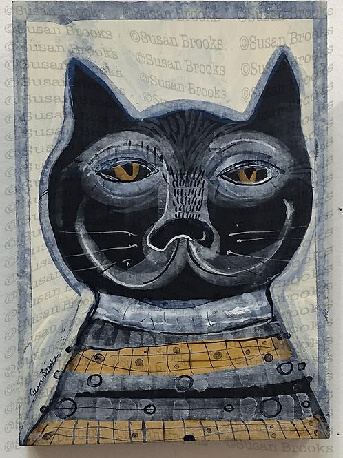 Painting: cat 586