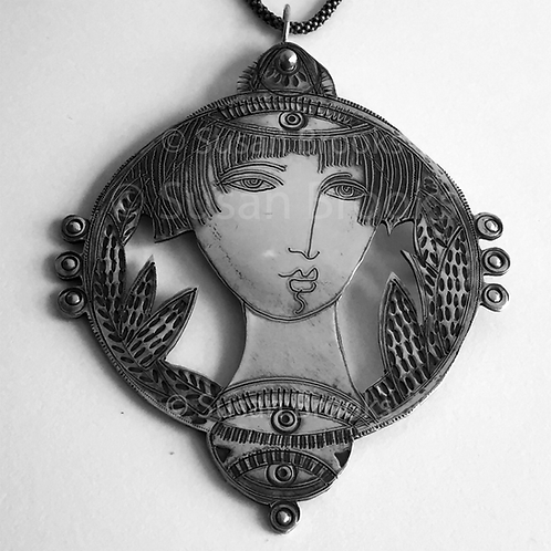 Sterling silver Pendant 615