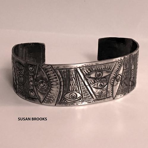 Medium Silver Cuff Bracelet 626 | Susan Brooks