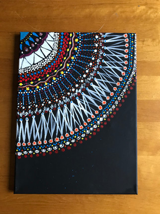 Quarter Mandala Painting