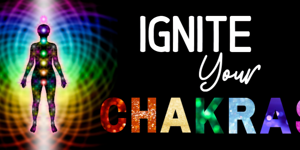 Ignite Your Chakra Virtual Workshop - Evening Session