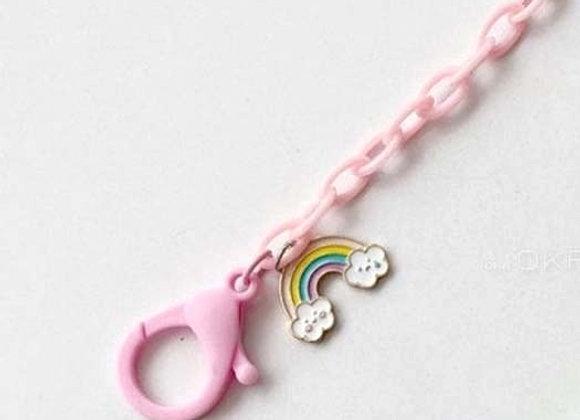 Rainbow Mask Necklace