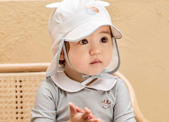 I Love You Petite UV Flap Hat