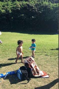Boys having fun in the Hawaiian sun!