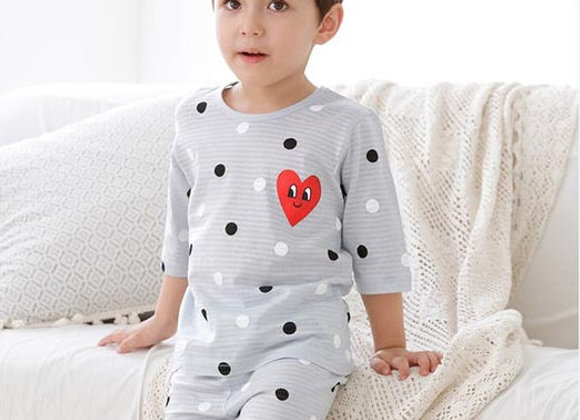 Grey Heart Loungewear