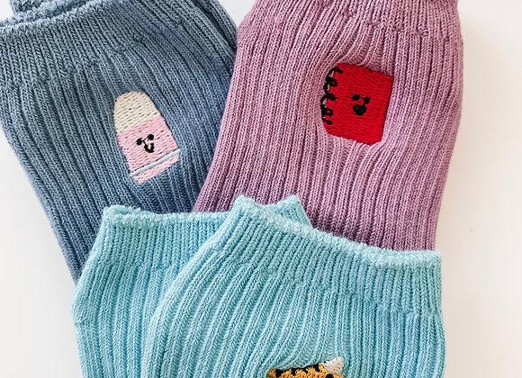 Cutie Pie Socks (3 pairs)