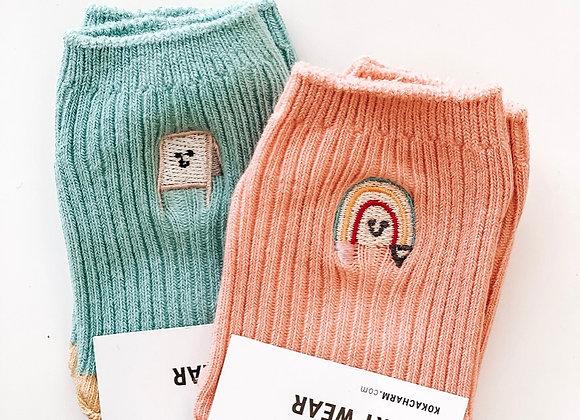 Cutie Pie Socks (2 pairs)