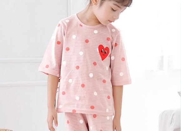 Pink Heart Loungewear