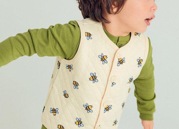 Organic Bumblebee Vest