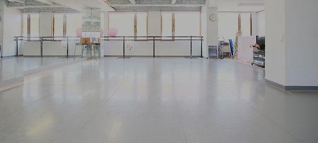 バレエのスタジオ