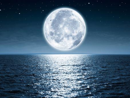 蠍座で満月☆そらもよう