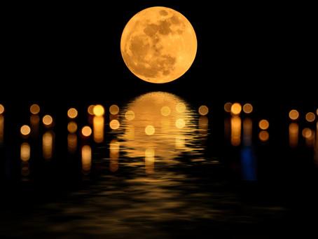 蟹座満月、始まりのとき☆そらもよう
