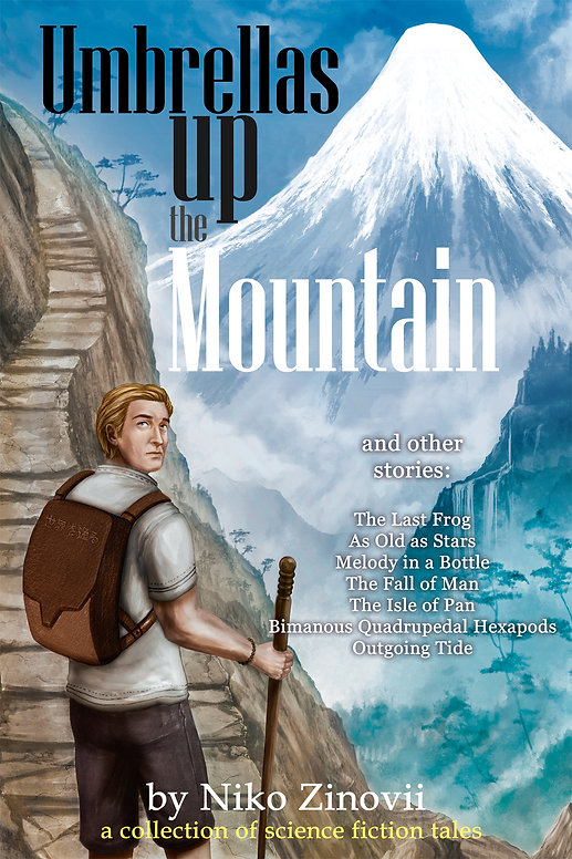 Umbrellas up the Mountain Final Cover co
