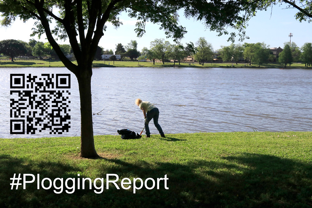 Plogging is yielding results at Bachman Lake Park
