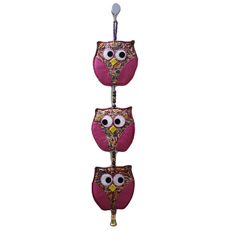 Three Owl Wall Hanging