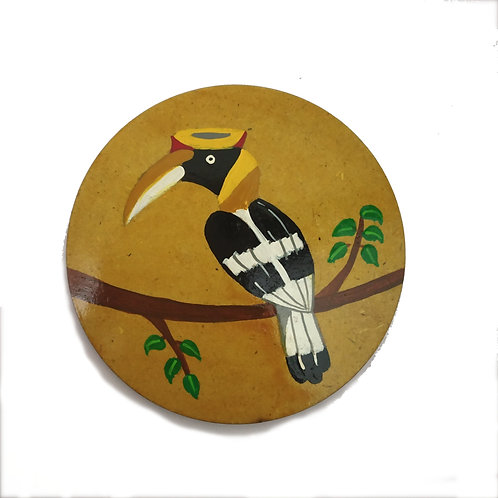 Great Hornbill Coaster