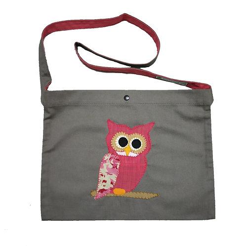 Owl Applique Office Bag