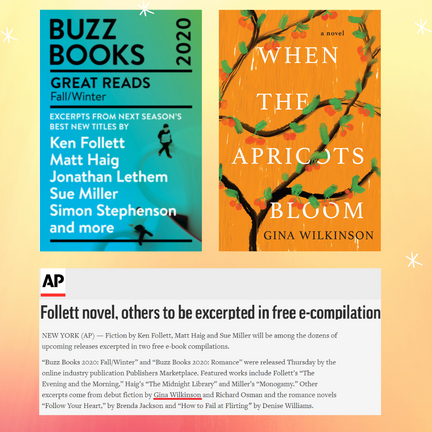 When the Apricots Bloom named one of the 30 Great Reads of fall/winter 2020!