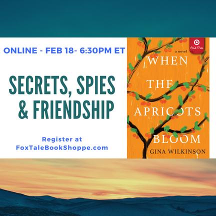 Online Book Event: Secrets, Spies & Friendship