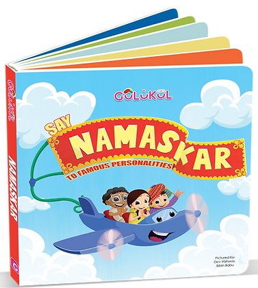 Namaskar to Famous Indian Personalities Board book