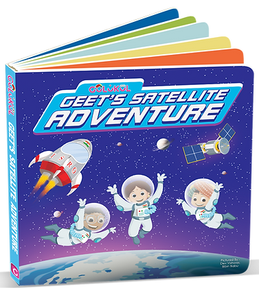 Geet's Satellite Adventure ISRO Board book