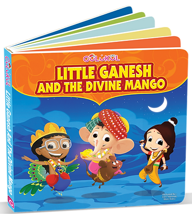 Little Ganesh Board Book