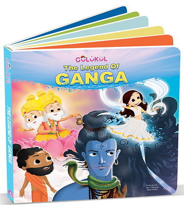 The Legend of Ganga board book