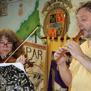 Callington OCS recorder and violin duet.