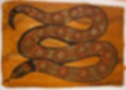 Australian Indigenous Art - Snake