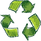 The symbol of recycling