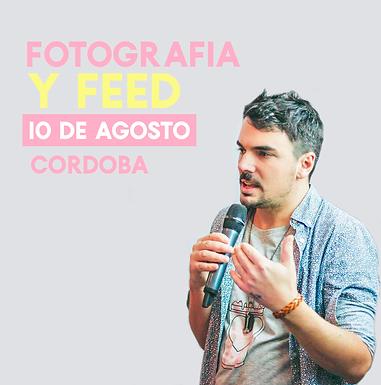 Fotografía y Diseño de Feed