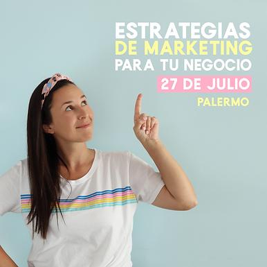 Estrategias de Marketing para potenciar negocio.