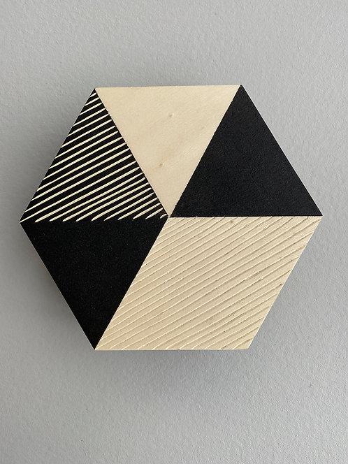 ikken deco - Boite hexagone MM