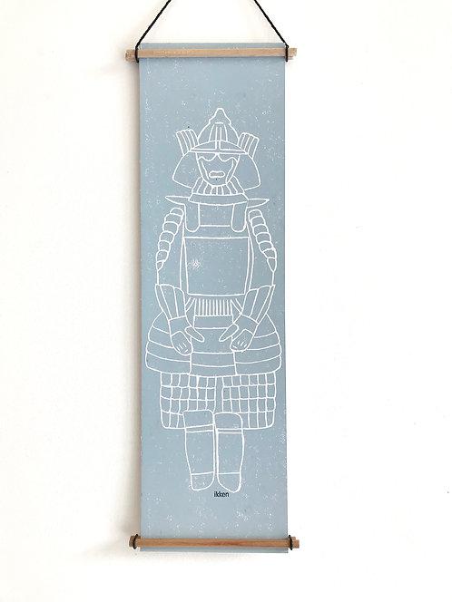 ikken déco - Kakemono Samouraï 1