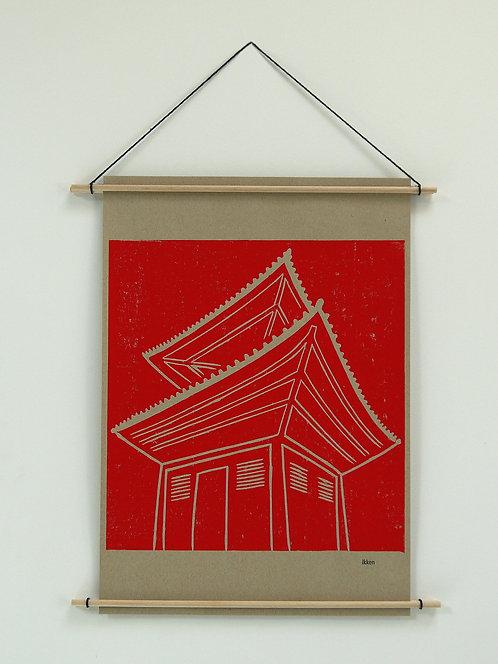 ikken déco - Kakemono Temple