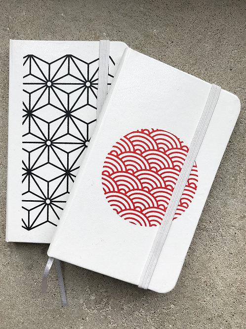 ikken déco - 2 carnets Japan assortis