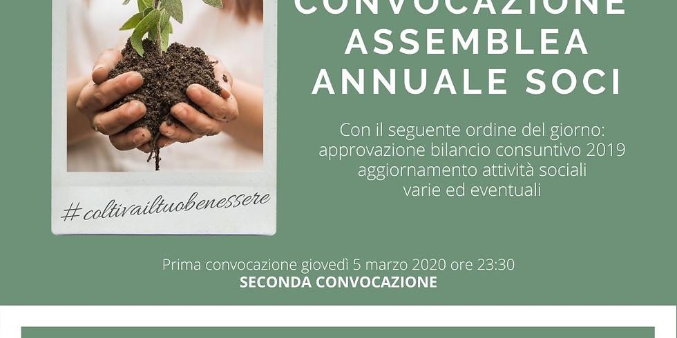 Assemblea annuale Soci e presentazione nuova stagione