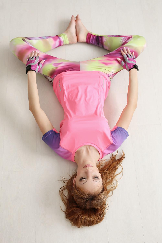 posizione per la flessibilità bacino