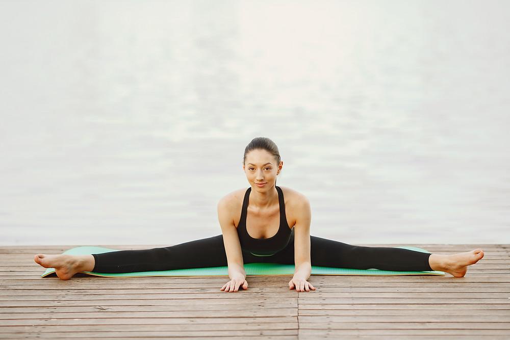 posizioni Yoga per i dolori mestruali