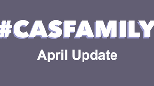 #CASfamily - Our April Newsletter