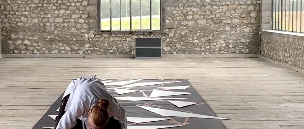Alice Anderson, Atelier Calder, photo Alice Anderson