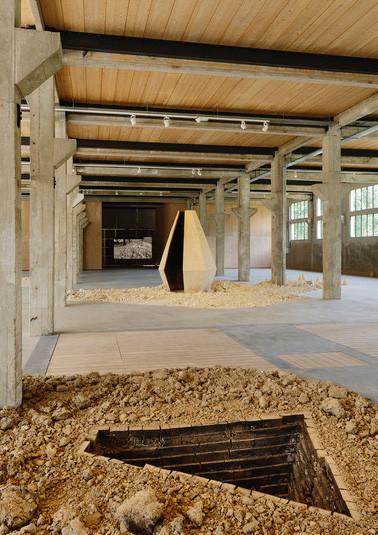 Exposition Elise Eeraerts, Centre d'art contemporain Les Tanneries Photo Guillaume Blanc