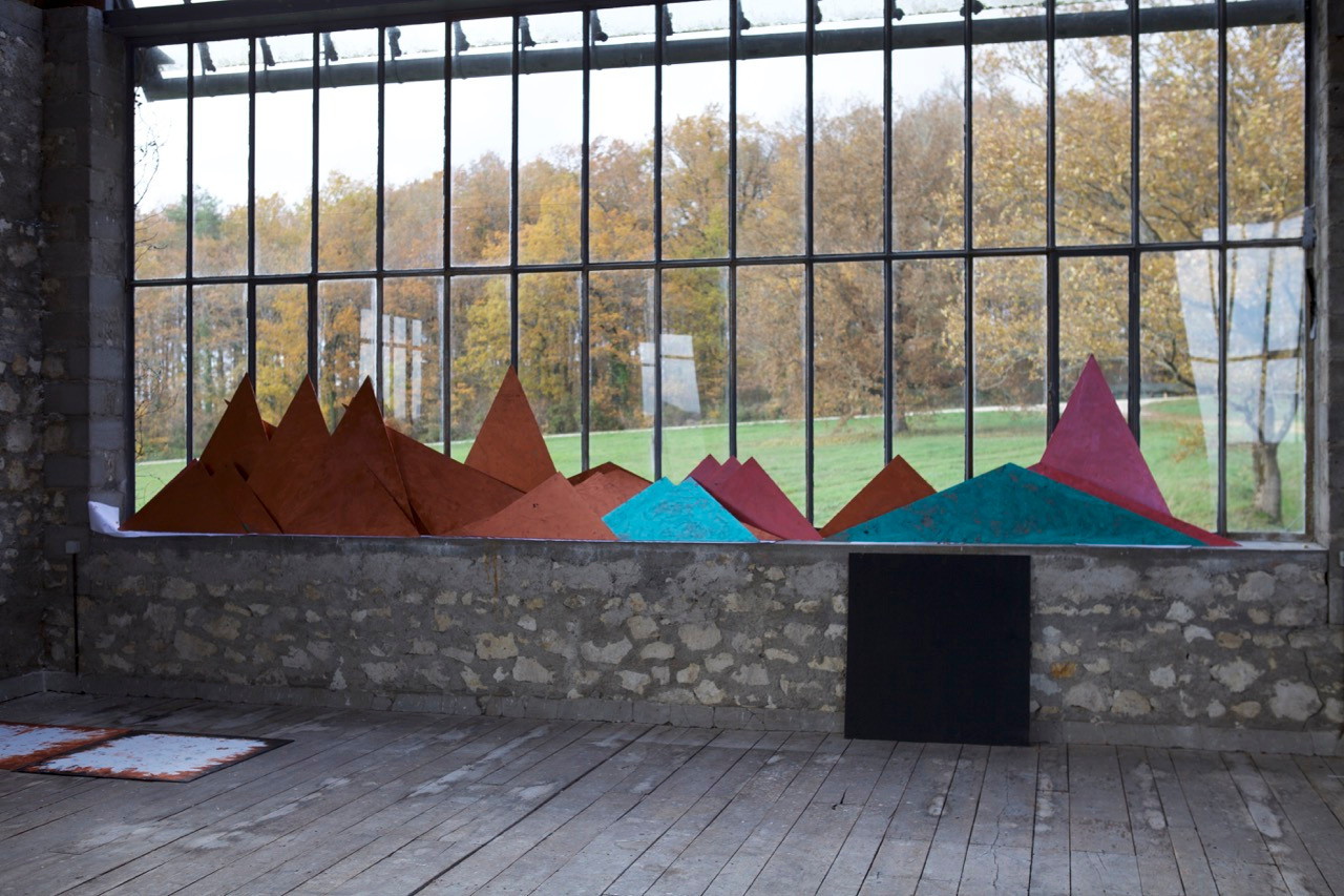 Alice Anderson, Atelier Calder, photo Guillaume Blanc