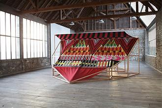 Santiago Borja, Totemic Sampler, Atelier Calder, photo Guillaume Blanc