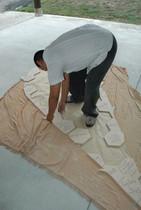Abraham Cruzvillegas, Atelier Calder Saché, photo Guillaume Blanc