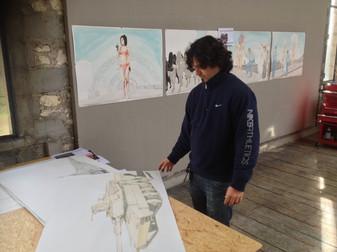 Duvier Del Gado, Atelier Calder - Photo Guillaume Blanc