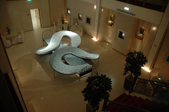 Los Carpinteros, Atelier Calder, Installation à St Nazaire, Estuaire 2007,  photo Guillaume Blanc